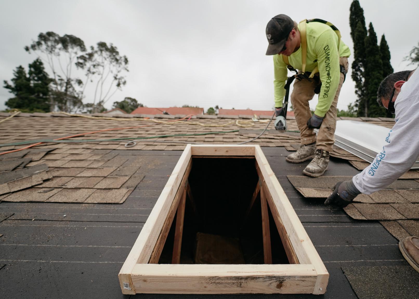 skylight installation san diego