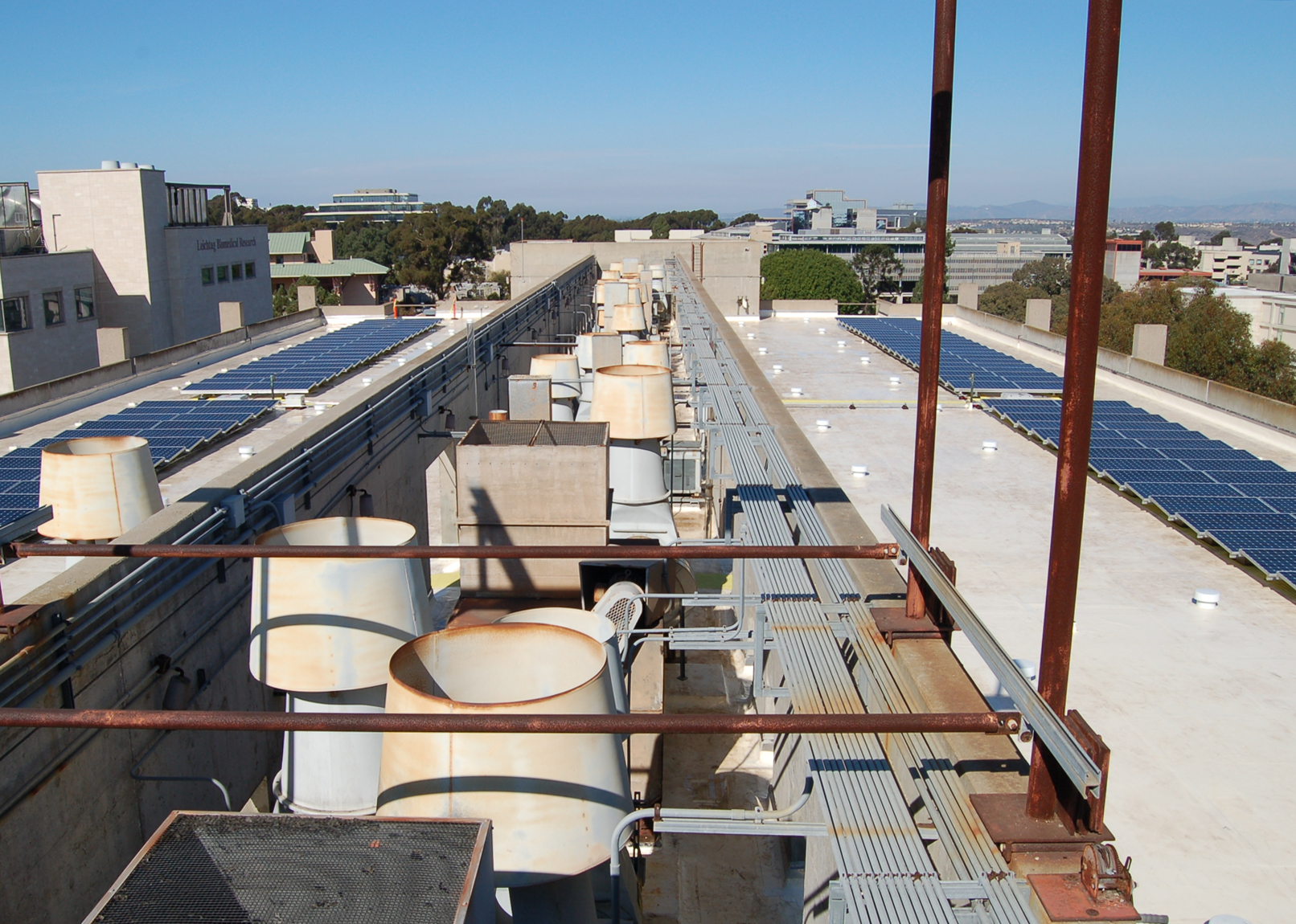 flat roof installation ucsd
